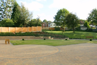 The beautifully landscaped surroundings are one of our proudest assets