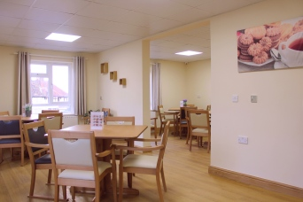 Our extensive dining menu can be catered specifically to each residents' preferences