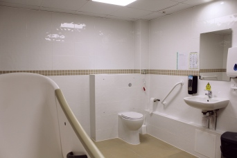 Toileting needs are always fully assisted in line with our residents' needs