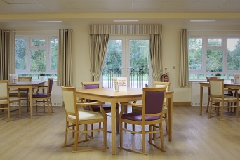 Our dining areas are spacious and well lit