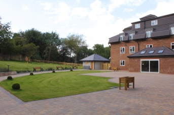 The Rear Courtyard - perfect for sitting out on sunny days